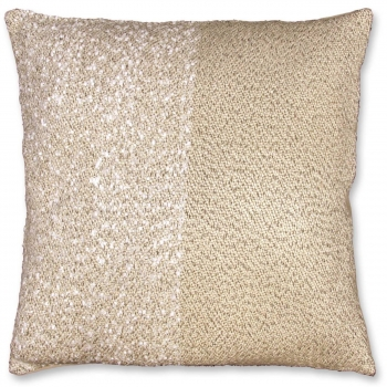 dekokissen zierkissen amber mit f llung 45x45cm creme beige lemetex. Black Bedroom Furniture Sets. Home Design Ideas