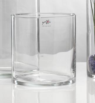 sr19 20 glasvase cyli glas vase tischvase blumenvase zylin. Black Bedroom Furniture Sets. Home Design Ideas