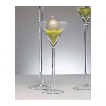 xxl martiniglas glas kelch glasvase klein 50 cm. Black Bedroom Furniture Sets. Home Design Ideas
