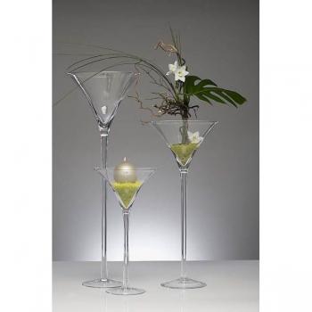 xxl martiniglas glas kelch glasvase gro 90 cm. Black Bedroom Furniture Sets. Home Design Ideas