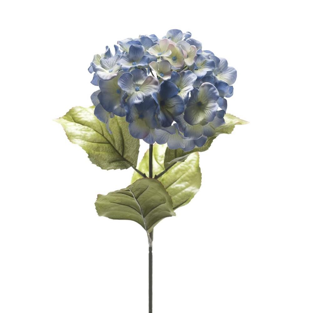 kunstblume k nstliche hortensie blau h 65 cm emerald. Black Bedroom Furniture Sets. Home Design Ideas