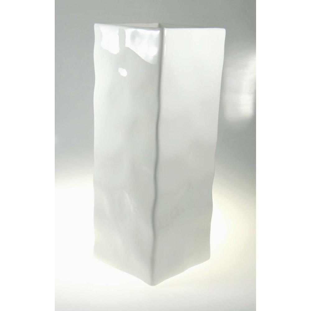 vase schirmst nder move wei rechteckig keramik h 50cm. Black Bedroom Furniture Sets. Home Design Ideas