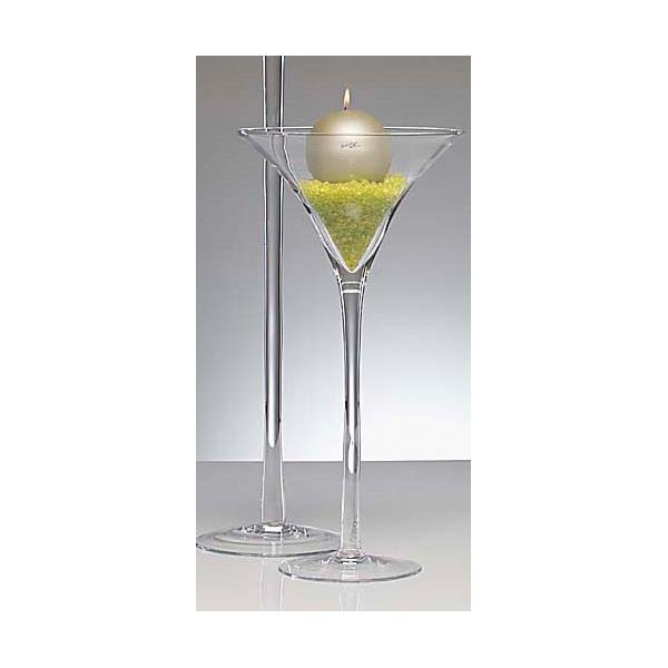 xl martiniglas bodenvase auf fu h he 50 cm transparent. Black Bedroom Furniture Sets. Home Design Ideas