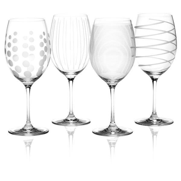 1 Edles Weinglas Floral Gaviert Blumen Muster