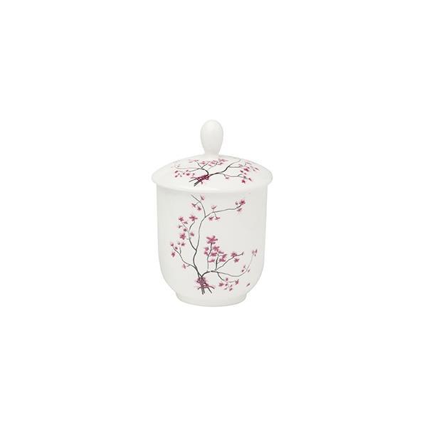 Teedose Zuckerdose mit Aromaverschluss CHERRY BLOSSOM Porzellan TeaLogic