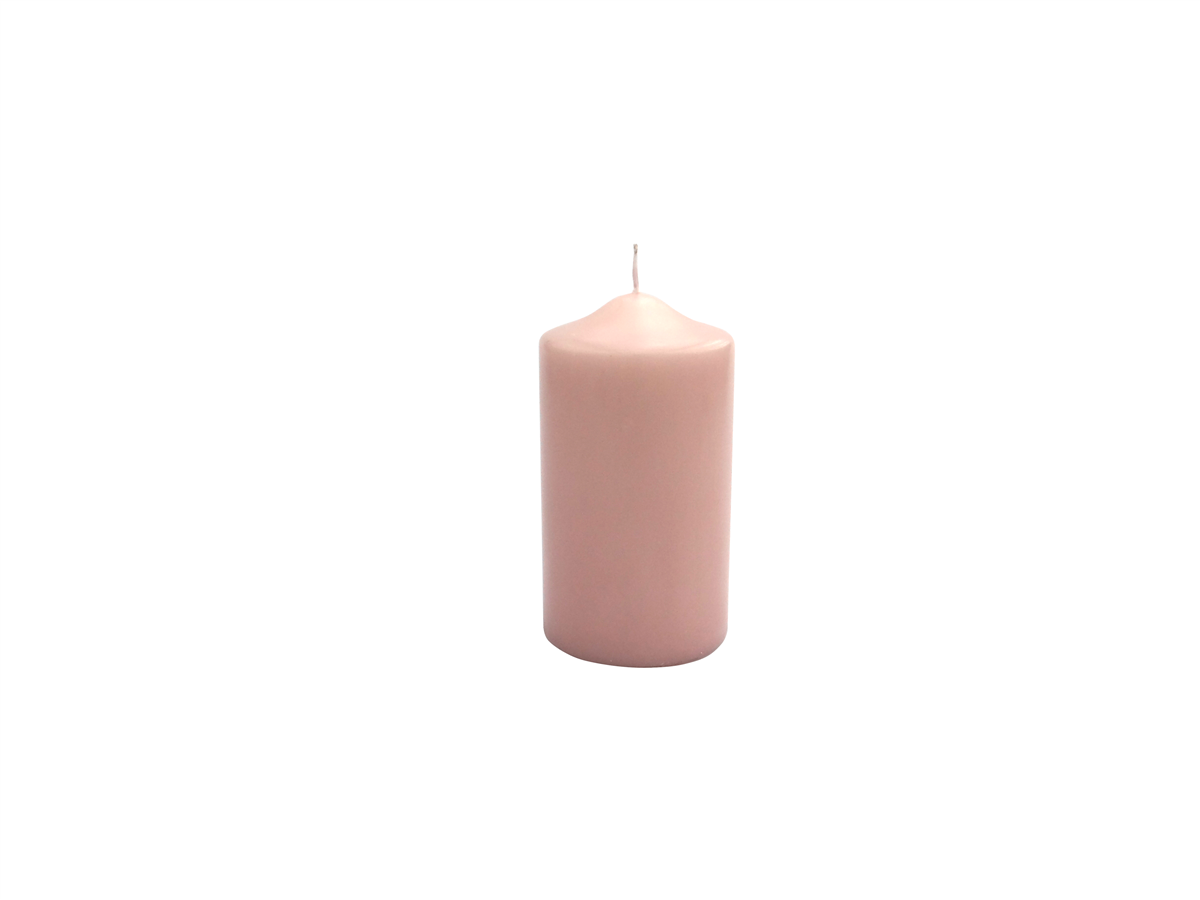 Ø 6cm 9cm weiß silber 2er SET  selbstlöschende Stumpenkerze Stern