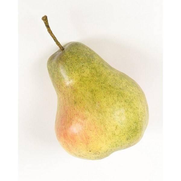 künstliche Birne 8cm grün rot Emerald Früchte