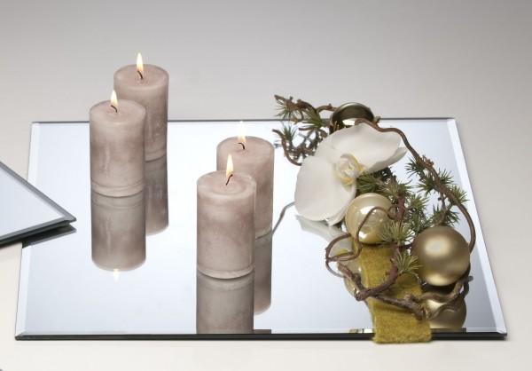 Spiegelplatte Deko.Spiegelplatte Deko Tischspiegel 40x40cm Glas Quadratisch Sandra Rich