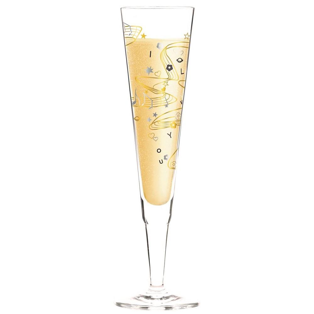 Ritzenhoff CHAMPUS Champagnerglas MUSIK Willian Farias 2017