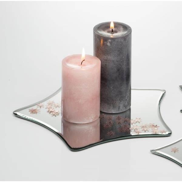 Spiegelplatte Deko.25cm Rund Glas Sandra Rich Deko Spiegel D Tischspiegel